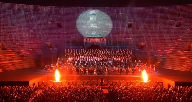I carmina Burana all'Arena di Verona