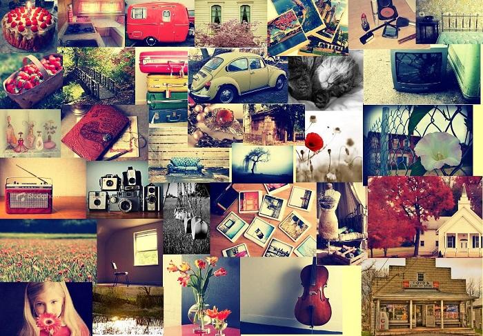 Un collage di immagini