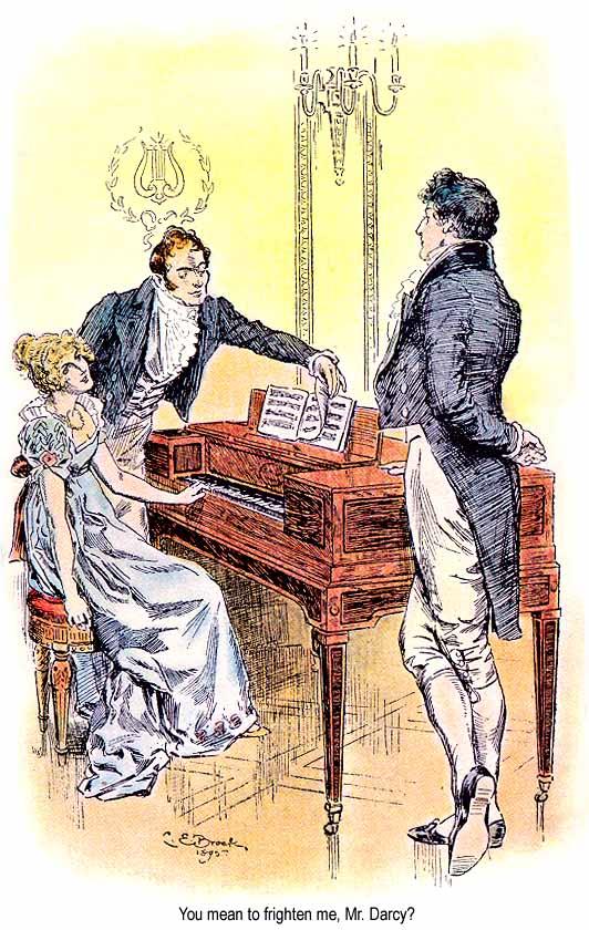Illustrazione dal libro Orgoglio e Pregiudizio