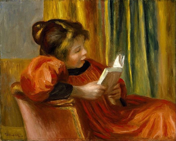 Dipinto di Renoir Ragazza che legge