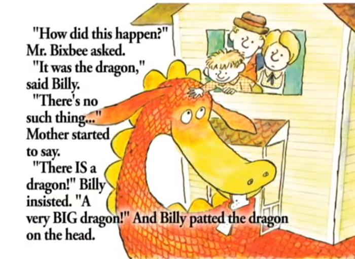 Billy accarezza il drago