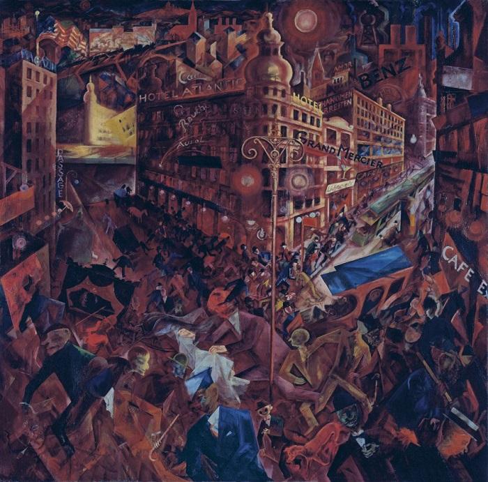 Metropolis - Quadro del pittore George Grosz