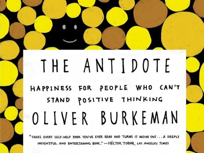 La copertina dell'edizione inglese del libro di Burkeman