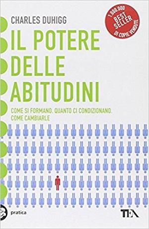Copertina libro Il potere delle abitudini di Charles Duhigg